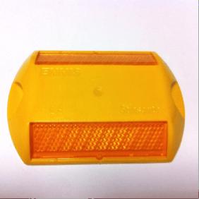 tacha reflectiva color amarillo
